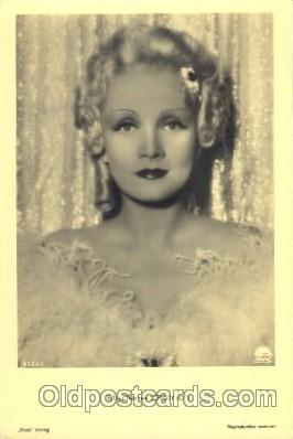 Marlene Dietrich Actor, Actress, Movie Star, Postcard Post Card