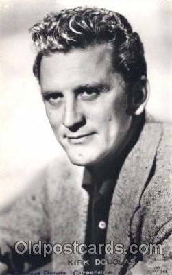 Kirk Douglas Actor, Actress, Movie Star, Postcard Post Card