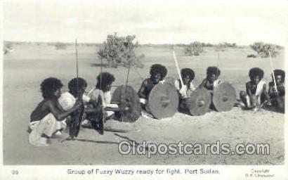 Fuzzy Wuzzy, Port Sudan