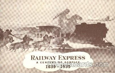 Iron horse, Railway express, Curl Burger, 1839-1939
