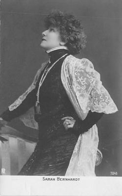 act002068 - Sarah Bernhardt Postcard Post Card