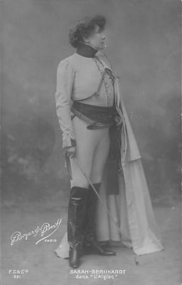 act002069 - Sarah Bernhardt Postcard Post Card