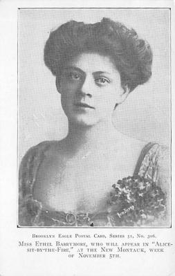 act002104 - Ethel Barrymore Postcard Post Card