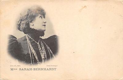 act002117 - Sarah Bernhardt Postcard Post Card
