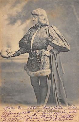 act002121 - Sara Bernhardt Postcard Post Card