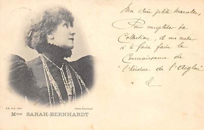 act002137 - Sara Bernhardt Postcard Post Card