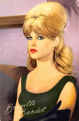 act002162 - Brigitte Bardot, Actress, Movie Star, Postcard Post Card