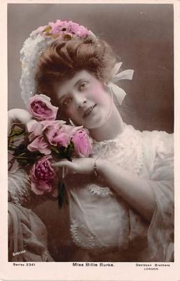 act002167 - Billie Burke Actor, Actress, Movie Star, Postcard Post Card