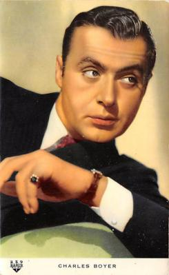 act002180 - Charles Boyer Actor, Actress, Movie Star, Postcard Post Card