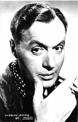 act002187 - Charles Boyer Actor, Actress, Movie Star, Postcard Post Card