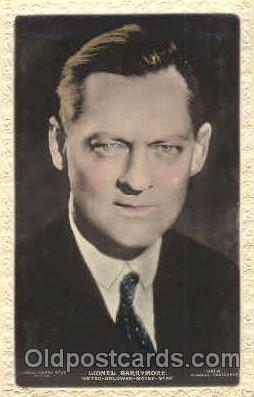 act002201 - Lionel Barrymore Actor, Actress, Movie Star