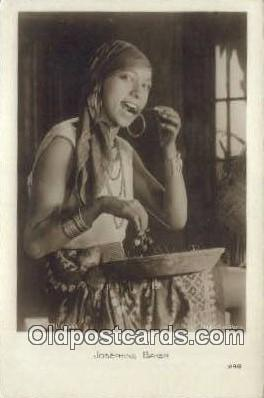act002212 - Josephine Baker Postcard Post Card Old Vintage Antique