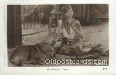 act002213 - Josephine Baker Postcard Post Card Old Vintage Antique