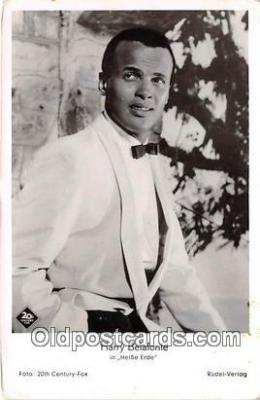 Harry Belafonte Postcard Post Card