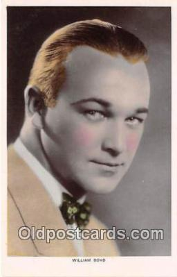 act002219 - William Boyd Movie Actor / Actress, Entertainment Postcard Post Card