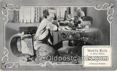 act002224 - Monte Blue Movie Actor / Actress, Entertainment Postcard Post Card