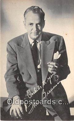 act002231 - Tom Breneman Movie Actor / Actress, Entertainment Postcard Post Card