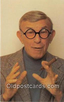 act002234 - George Burns Movie Actor / Actress, Entertainment Postcard Post Card