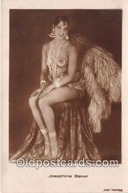 act002235 - Josephine Baker Movie Actor / Actress, Entertainment Postcard Post Card