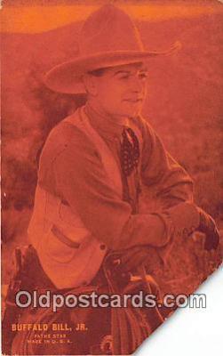 act002251 - Buffalo Bill, Jr Movie Actor / Actress, Entertainment Postcard Post Card