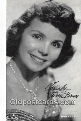 act002265 - Teresa Brewer Movie Actor / Actress, Entertainment Postcard Post Card