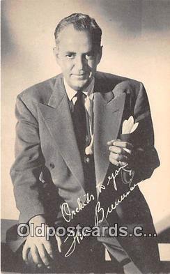 act002276 - Tom Breneman Movie Actor / Actress, Entertainment Postcard Post Card