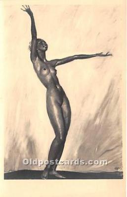 act002309 - Josephine Baker Black Entertainer Old Vintage Postcard
