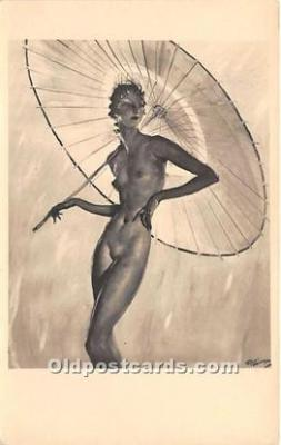 act002313 - Josephine Baker Black Entertainer Old Vintage Postcard