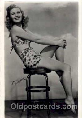 act003048 - Joan Caulfield Postcard, Post Card