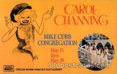 act003059 - Carol Channing Postcard, Post Card