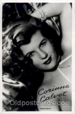 act003098 - Corinne Calvet Postcard Post Card