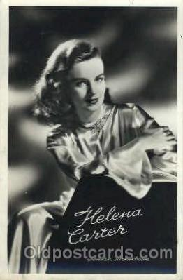 act003114 - Helena Carter Actor, Actress, Movie Star, Postcard Post Card