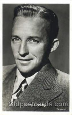 act003150 - Bing Crosby Actor, Actress, Movie Star, Postcard Post Card