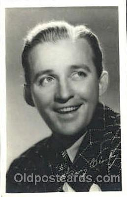act003173 - Bing Crosby Actor, Actress, Movie Star, Postcard Post Card