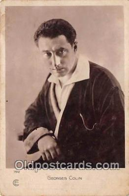 act003277 - Georges Colin Movie Actor / Actress, Entertainment Postcard Post Card