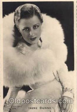 act004017 - Irene Dunne Post Card
