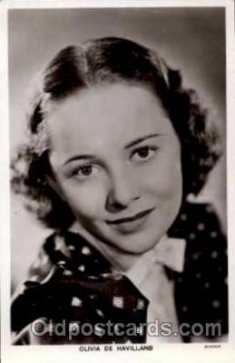 act004067 - Olivia De Havilland Postcard, Post Card