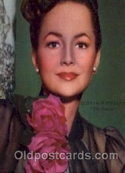 act004068 - Olivia De Havilland Postcard, Post Card