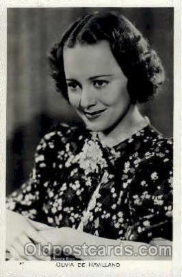 act004103 - Olivia De Havilland Postcard Post Card