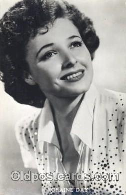 act004119 - Loraine Day Actor, Actress, Movie Star, Postcard Post Card