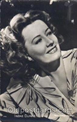 act004143 - Irene Dunne Actor, Actress, Movie Star, Postcard Post Card