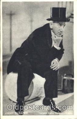 act004148 - Jimmy Durante Actor, Actress, Movie Star, Postcard Post Card