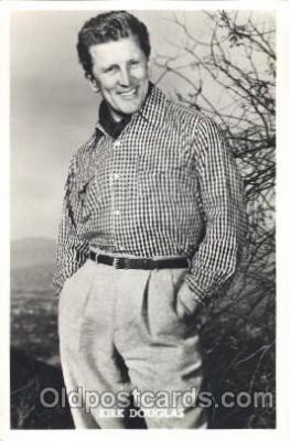act004155 - Kirk Douglas Actor, Actress, Movie Star, Postcard Post Card