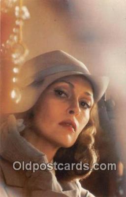 act004168 - Faye Dunaway Movie Actor / Actress, Entertainment Postcard Post Card