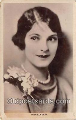 act004183 - Priscilla Dean Movie Actor / Actress, Entertainment Postcard Post Card