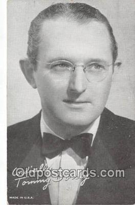 act004192 - Tommy Dorsey Musician Entertainment Postcard Post Card