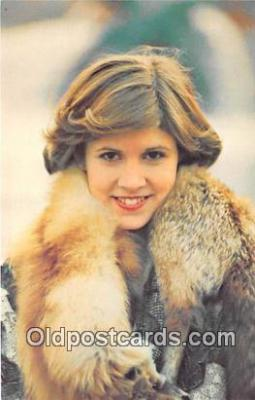 act006056 - Carrie Fisher Movie Actor / Actress, Entertainment Postcard Post Card