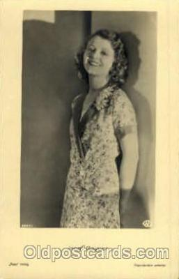 act007131 - Janet Gaynor Postcard Post Card