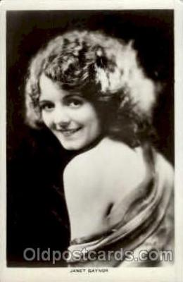 act007133 - Janet Gaynor Postcard Post Card