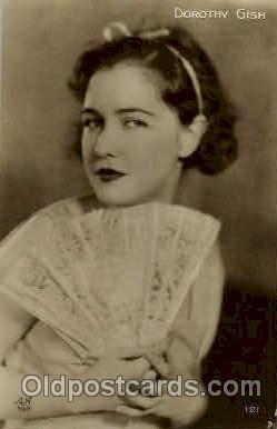 act007138 - Dorothy Gish Postcard Post Card